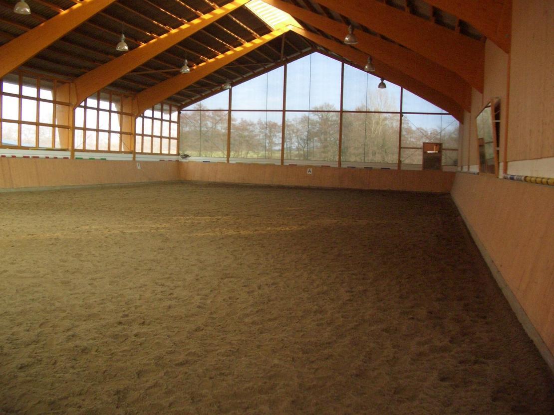 Reithalle 20m x 40m - Stremmer Sand