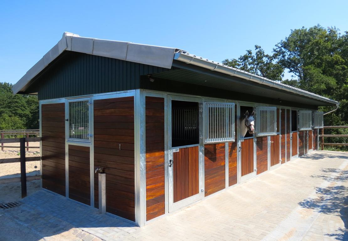 Neue Außenboxen mit direktem Zugang zum Sandpaddo