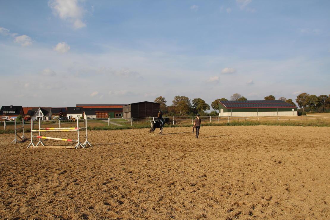 Außenreitplatz 30 x 70 m (Sand-Vlies-Boden)