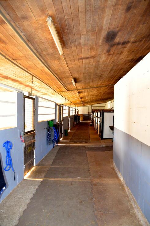 Stallungen Innen