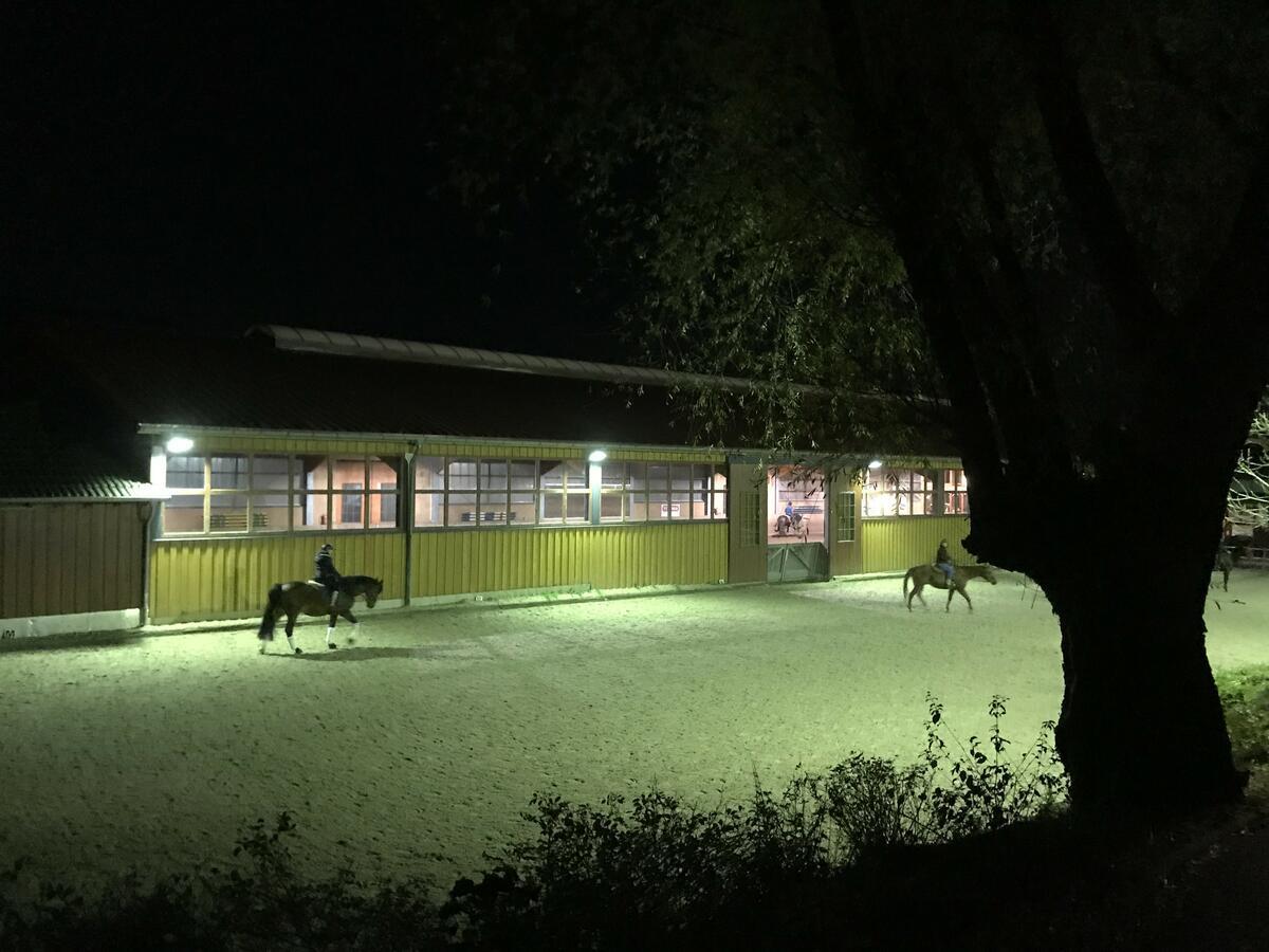 Flutlichtbeleuchtung