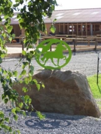 Logo vor Stall
