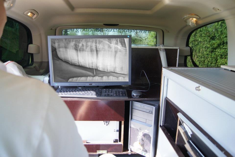 Mobiles Digitales Röntgen