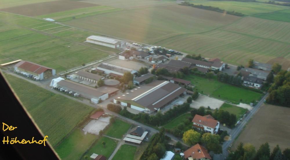 Luftbild vom Höhenhof