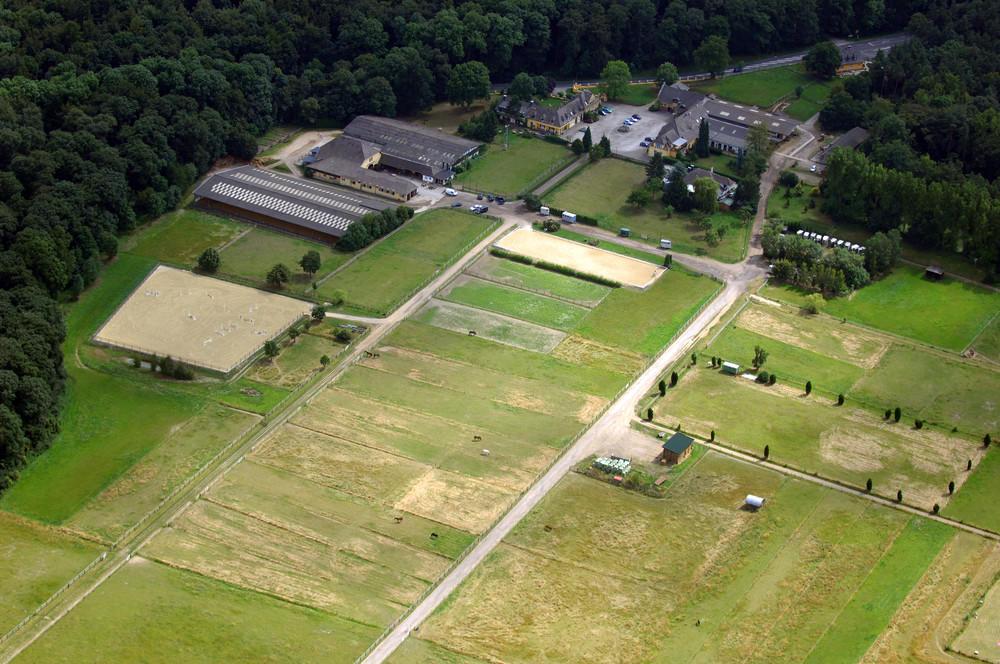 Luftbild von Gut Waldau