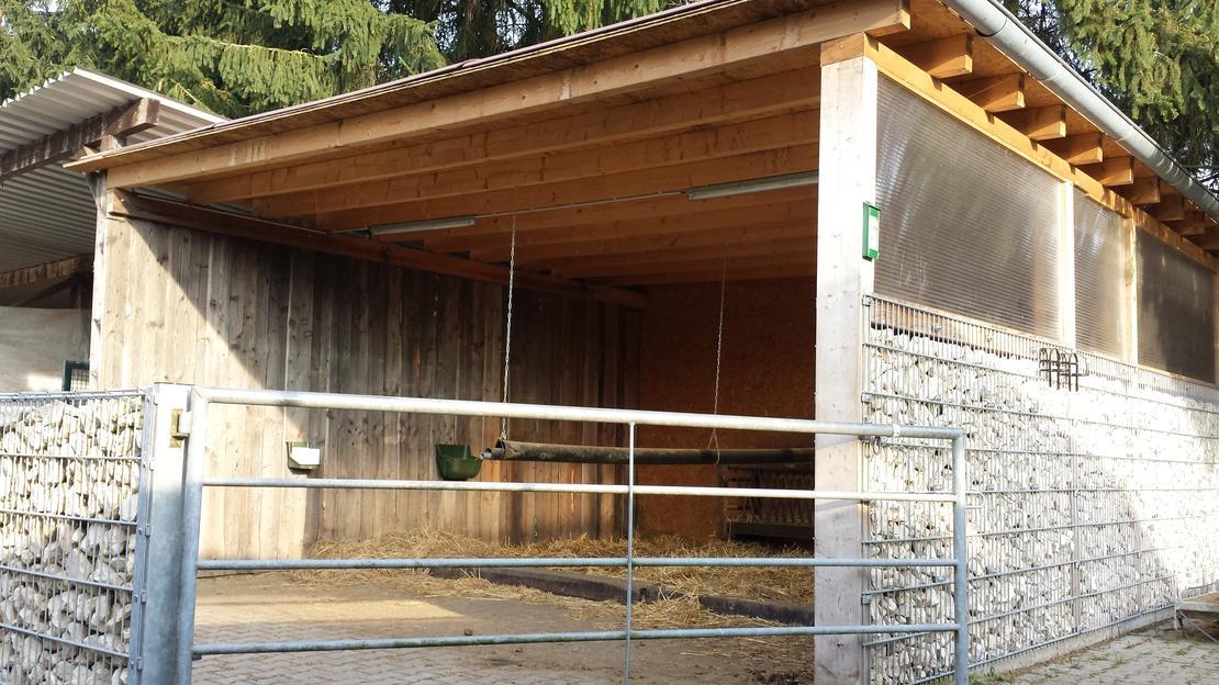 Doppelaußenpaddockbox