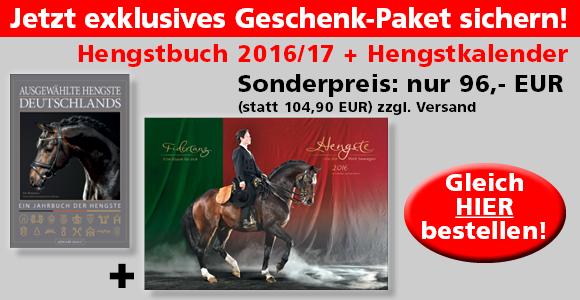 Hengstbuch 2016/17 und Hengstkalender