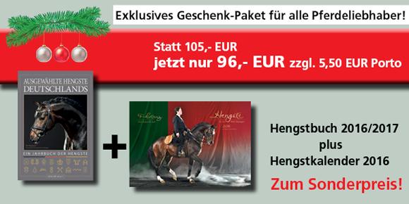 Hengstbuch 2016/17 und Hengstkalender 2016