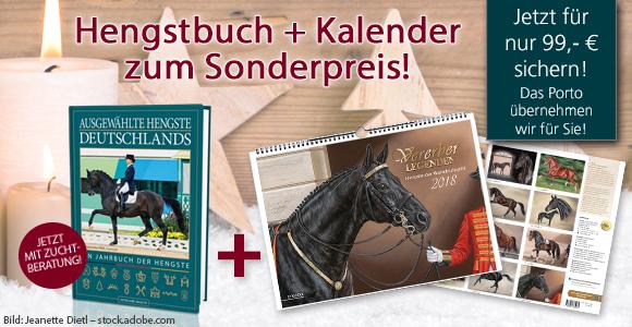 Hengstbuch und Kalender zum Sonderpreis